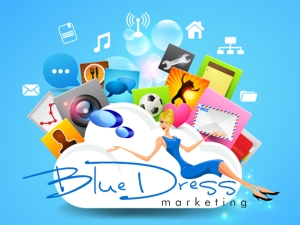 blue-dress-social-media-marketing
