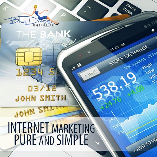 Blue Dress Marketing Internet Marketing Consultant