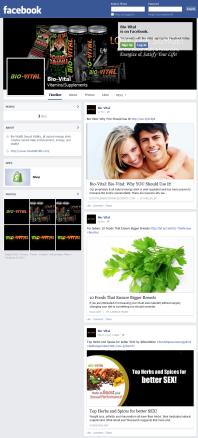 Bio-Vital Facebook Page