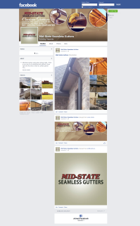 Mid-State Gutter Facebook Page