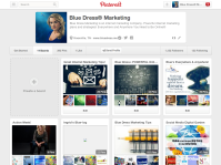 Pinterest with full cover board design
