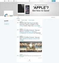 AppleBid Twitter