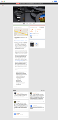 Walker's Collision Repair Google Places